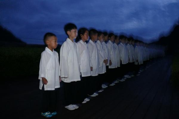 第五届武当青少年暑假班学员的日常 (图文)