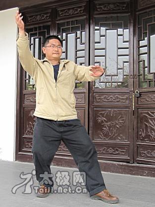 杨家太极拳图籍中的白鹤亮翅,最早见诸民国10年许禹生编著的《太极